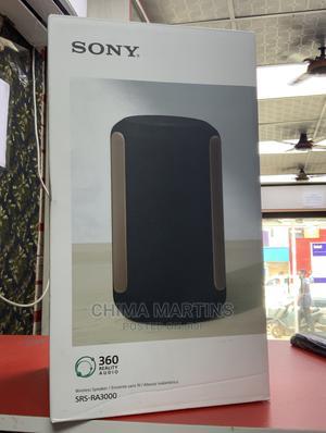 SONY Srs-Ra3000 Wireless Speaker - Black | Audio & Music Equipment for sale in Lagos State, Ikeja