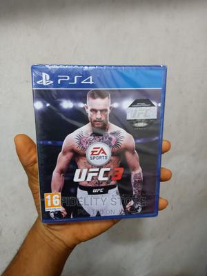 PLAYSTATION 4 Ufc 3 for Ps4 | Video Games for sale in Lagos State, Ikeja