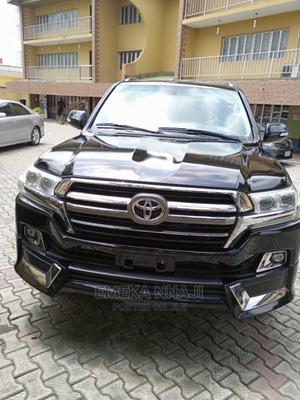 Toyota Land Cruiser 2016 5.7 V8 VXR Black | Cars for sale in Lagos State, Yaba