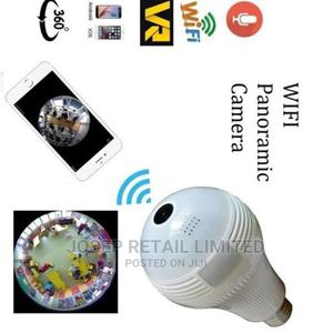 360 Degree Wifi Bulb Panoramic Smart Spy Hidden Camera | Security & Surveillance for sale in Oyo State, Ibadan