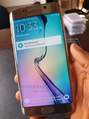 Samsung Galaxy S6 edge 32 GB Gold | Mobile Phones for sale in Edo State, Ekpoma