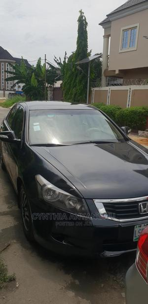 Honda Accord 2008 Black | Cars for sale in Rivers State, Port-Harcourt