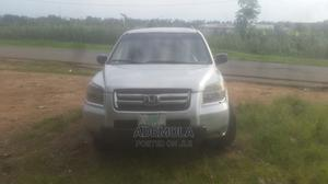 Honda Pilot 2004 EX 4x4 (3.5L 6cyl 5A) Silver | Cars for sale in Oyo State, Ibadan