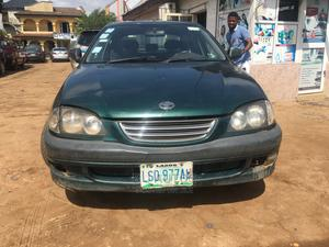 Toyota Avensis 1999 2.0 SR D4-D Green | Cars for sale in Lagos State, Abule Egba