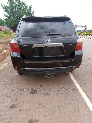 Toyota Highlander 2008 Limited 4x4 Black   Cars for sale in Ondo State, Akure