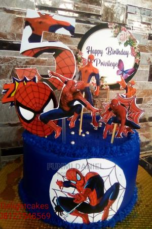 Spider Man Cake | Meals & Drinks for sale in Edo State, Benin City