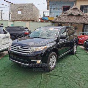 Toyota Highlander 2012 SE Black   Cars for sale in Lagos State, Ilupeju