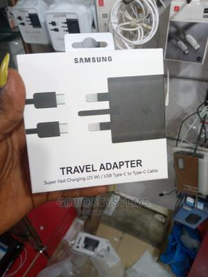 Original Samsung 25w Fast Charger | Accessories for Mobile Phones & Tablets for sale in Lagos State, Ikeja