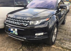 Land Rover Range Rover Evoque 2013 Pure Plus AWD Black | Cars for sale in Lagos State, Ilupeju