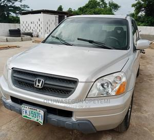 Honda Pilot 2005 EX 4x4 (3.5L 6cyl 5A) Silver | Cars for sale in Lagos State, Ifako-Ijaiye