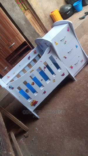 Baby Cot With Baby Bed | Furniture for sale in Ogun State, Ado-Odo/Ota