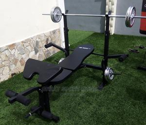 Premium Quality Weight Lifting Bench With 50kg Dumbbell   Sports Equipment for sale in Lagos State, Lagos Island (Eko)