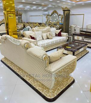 TACHAMAL Royal 7 Seater Turkish Sofa with Centre Table | Furniture for sale in Lagos State, Amuwo-Odofin