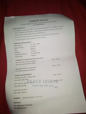 Office CV   Restaurant & Bar CVs for sale in Lagos State, Surulere