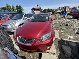 Lexus IS 2008 250 Red | Cars for sale in Lagos State, Apapa