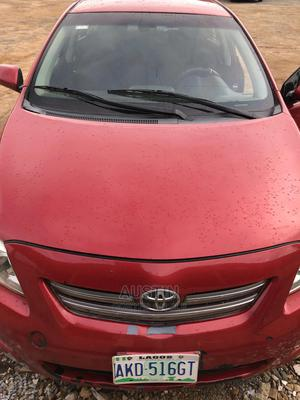 Toyota Corolla 2009 Red | Cars for sale in Oyo State, Oluyole