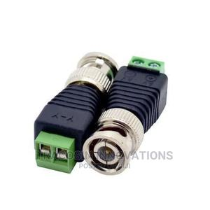 BNC Male Connector Coax CAT6 to Camera CCTV UTP Balun 100pcs | Accessories & Supplies for Electronics for sale in Lagos State, Yaba