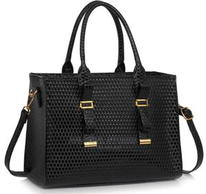 Black Buckle Detail Tote Shoulder Bag - AS0054 | Bags for sale in Lagos State, Amuwo-Odofin