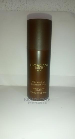 Giordani Gold Man Anti-Perspirant Deodorant Spray.150ml | Bath & Body for sale in Lagos State, Alimosho