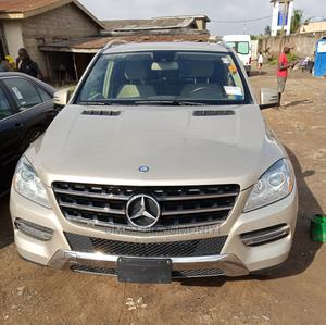 Mercedes-Benz M Class 2012 ML 350 4Matic Gold | Cars for sale in Lagos State, Abule Egba