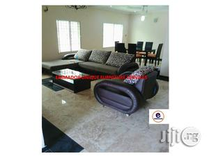 L- Shaped Sofa With Single Sofa | Furniture for sale in Lagos State, Ikeja