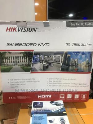 Hikvision 16 Channel Embedded NVR. Model:Ds-7616ni-Q2/16p | Security & Surveillance for sale in Abuja (FCT) State, Utako