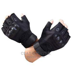 Tactical Hand Glove Short | Sports Equipment for sale in Lagos State, Ikeja