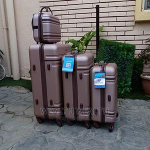 Standard Travelling Chocolate Suitcase Luggage Bag | Bags for sale in Lagos State, Ikeja