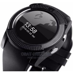 Smart Watch With SIM Card Bluetooth | Accessories & Supplies for Electronics for sale in Lagos State, Ikeja