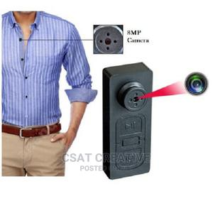 HD Mini DVR Shirt Button Hidden Recorder Spy Camera With Vib | Security & Surveillance for sale in Lagos State, Ikeja