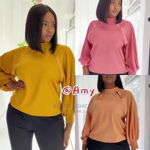 Ladies Classy Yellow Top | Clothing for sale in Lagos State, Ikeja