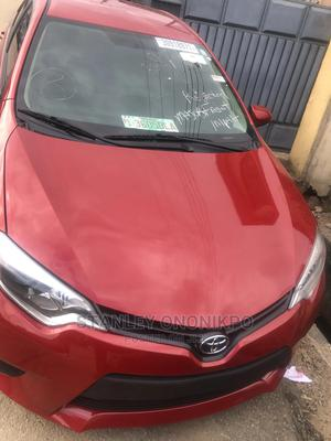 Toyota Corolla 2012 Red | Cars for sale in Lagos State, Ilupeju