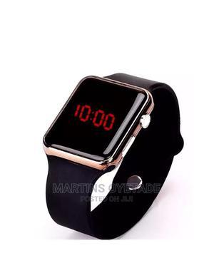 Silicon Led Light Watch | Smart Watches & Trackers for sale in Osun State, Osogbo
