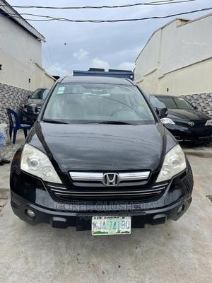Honda CR-V 2008 2.4 EX 4x4 Automatic Black   Cars for sale in Lagos State, Surulere