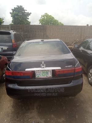 Honda Accord 2005 Sedan EX Automatic Black | Cars for sale in Lagos State, Ikeja