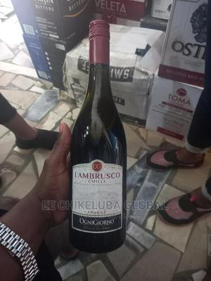 Lambrusco Emilia Italian Quality Red Wine | Meals & Drinks for sale in Lagos State, Ojo