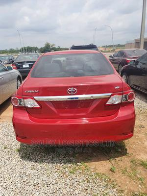 Toyota Corolla 2011 Red | Cars for sale in Abuja (FCT) State, Kubwa