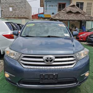 Toyota Highlander 2011 SE Blue   Cars for sale in Lagos State, Ilupeju