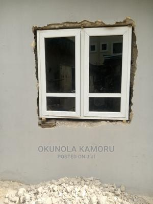 Aluminium Casement Window With Burglary and Net   Windows for sale in Lagos State, Agege