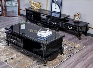 Cumfam Royal Design Luxury TV Stand Center Table | Furniture for sale in Lagos State, Ikeja