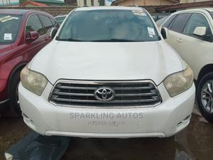 Toyota Highlander 2009 White | Cars for sale in Lagos State, Ikeja