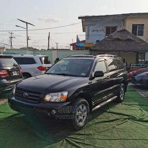 Toyota Highlander 2005 V6 4x4 Black   Cars for sale in Lagos State, Mushin