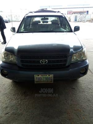 Toyota Highlander 2003 V6 AWD Blue | Cars for sale in Abuja (FCT) State, Lugbe District