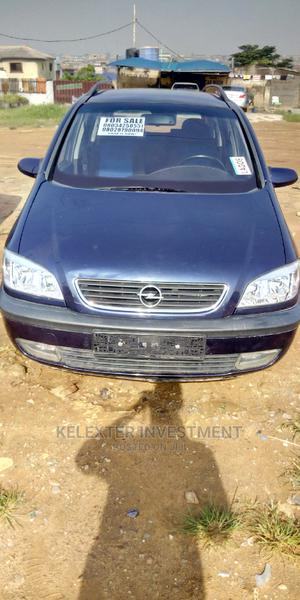 Opel Zafira 2004 1.8 Blue   Cars for sale in Lagos State, Alimosho