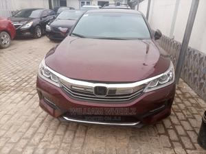 Honda Accord 2017 Red   Cars for sale in Lagos State, Surulere