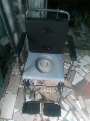 Commode Wheelchair (Fairly Used) | Medical Supplies & Equipment for sale in Lagos State, Mushin