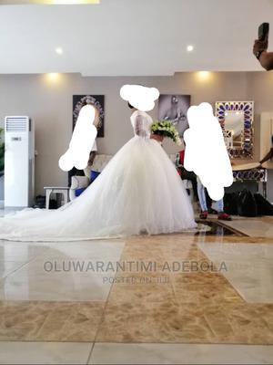 Wedding Dress and Veil   Wedding Wear & Accessories for sale in Lagos State, Ogba