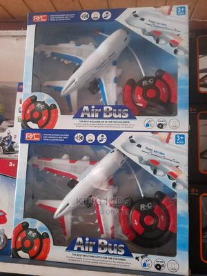 Air Bus Toy With Remote Control for Kids   Toys for sale in Lagos State, Amuwo-Odofin