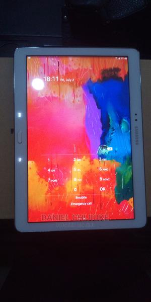 Samsung Galaxy Tab 4 10.1 LTE 16 GB White   Tablets for sale in Abuja (FCT) State, Jabi