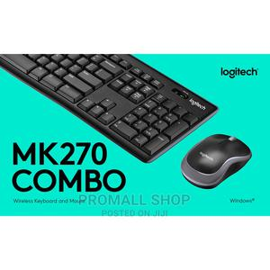 Logitech MK270 Reliable Wireless Keyboard and Mouse | Computer Accessories  for sale in Lagos State, Ikeja
